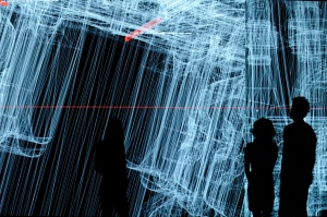 data.anatomy [civic] is a new audiovisual installation by Ryoji Ikeda