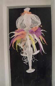 Anita Bruce - Siphonophora (Haeckel) - textile
