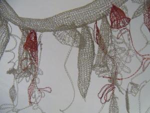 Anita Bruce - Siphonophora (Physonect) - textile