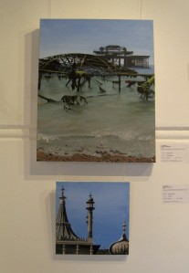 Natalie Martin - The West Pier (above); Pavilion (below)2