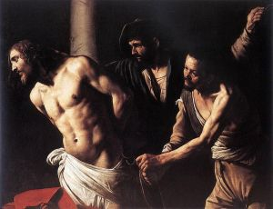 Caravaggio Christ at the Column 1606