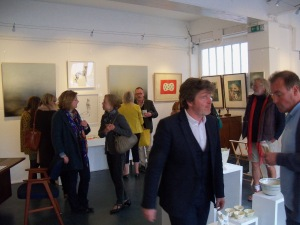 'Festival' exhibition opening