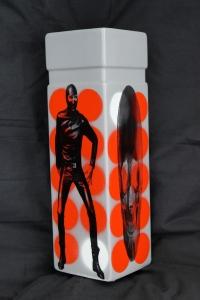 chainsaw vase