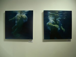 Patsy McArthur - 'Apparition I' and 'Apparition II'