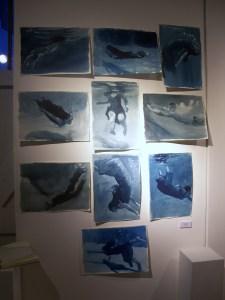 Patsy McArthur - Ink studies