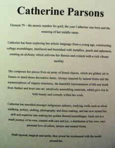Catherine Parsons' bio