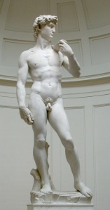 David, by Michaelangelo