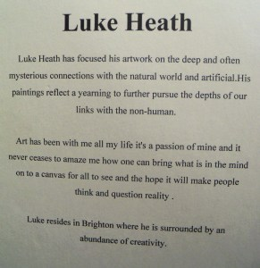 Luke Heath's bio