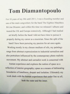 Tom Diamantopoulo's bio