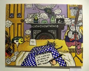 Victoria Gould 'The Artist's Bedroom'