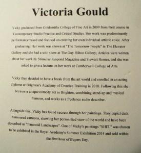 Victoria Gould's bio