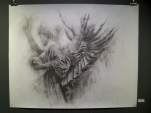 'Angel' (graphite on paper)