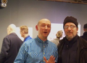 Ian Hodgson and Russell Honeyman from Sussex Artbeat