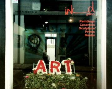 10 Years of ink_d - art window