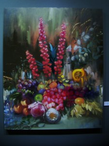 Chris Kettle - Still Life of Fruit & Flowers II