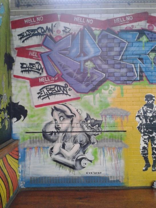 Brighton Youth Centre Street Art - 12