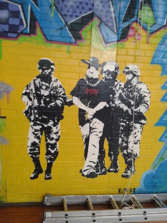 Brighton Youth Centre Street Art - 13