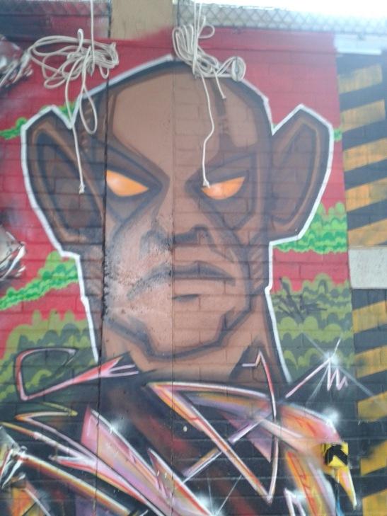 Brighton Youth Centre Street Art - 17