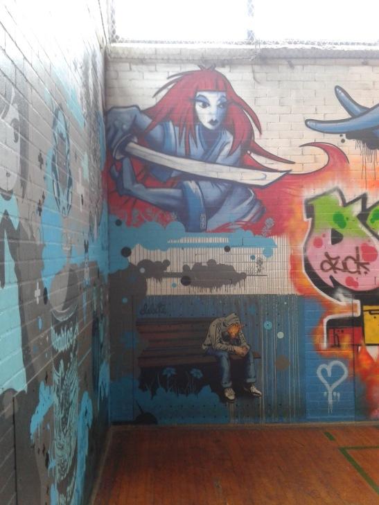 Brighton Youth Centre Street Art - 18