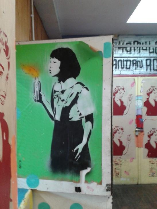 Brighton Youth Centre Street Art - 3
