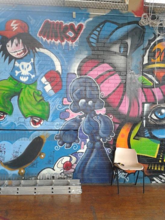 Brighton Youth Centre Street Art - 32