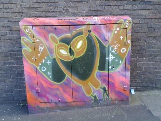 Brighton Youth Centre Street Art - 33