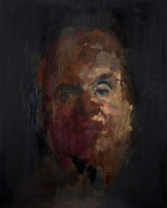 Jake Wood Evans self portrait bacon