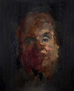 Jake Wood Evans self portrait bacon