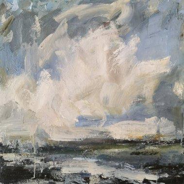 Hannah Ivory Baker : Low Cloud, Sussex Coast